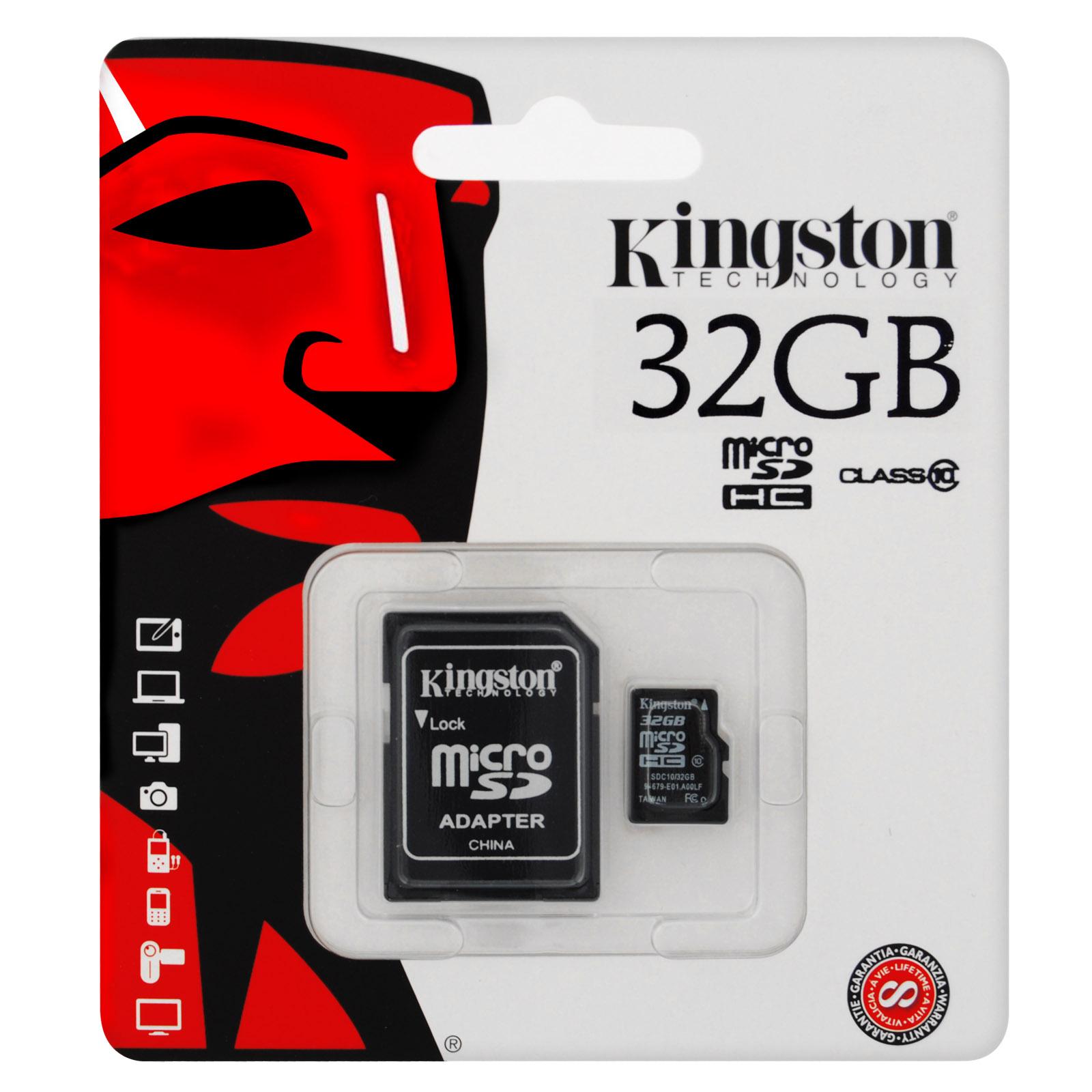 Carte micro SD 32Go class 10